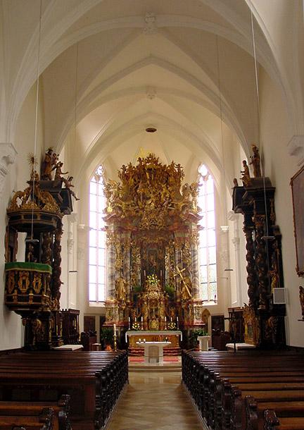 Gesamtanlage Kloster Kirchheim, Kirche