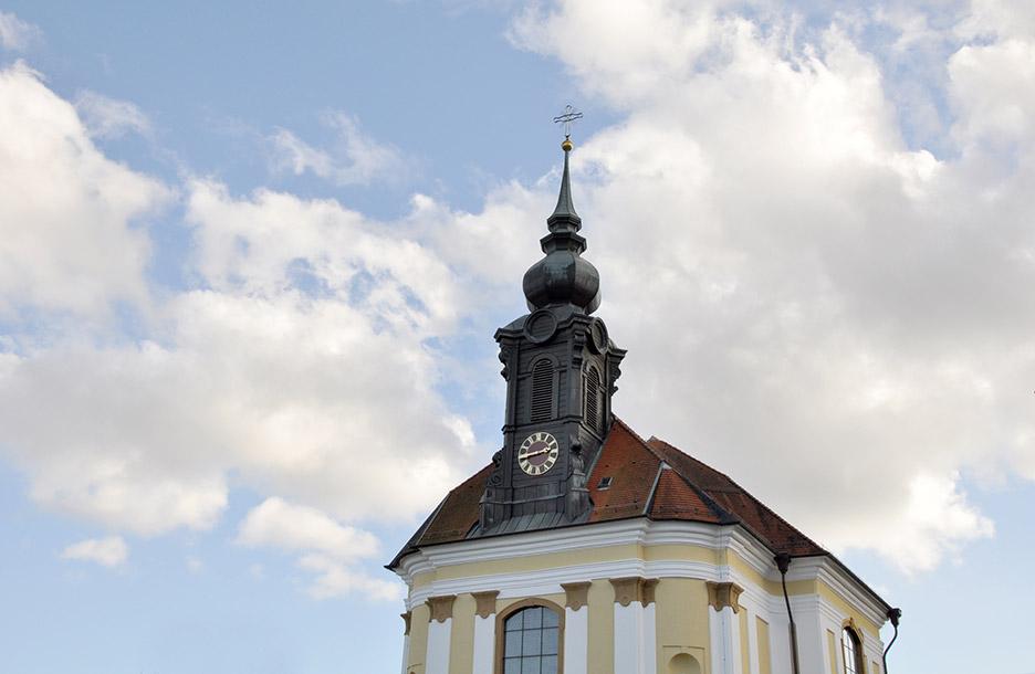 """Wallfahrtskirche """"Unserer lieben Frau vom Roggenacker"""", Flochberg"""